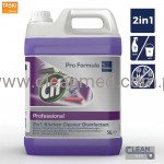 Cif 2 in 1 Cleaner Disinfectant 5l - Płyn do mycia i dezynfekcji