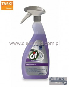 Cif 2 in 1 Cleaner Disinfectant 0,75l - Płyn do mycia i dezynfekcji